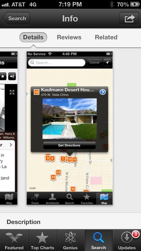 Palm Springs Mid Century App