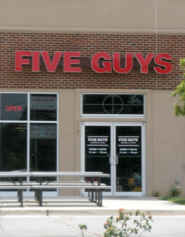 Five Guys in Crofton MD