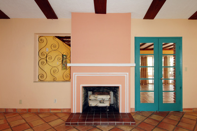 70 NE 94th Street - fireplace