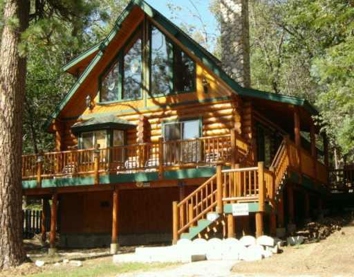 The 3 best bank owned big bear log style homes for sale in for Log cabins in big bear