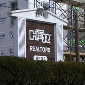 HER Realtors Worthington Ohio our old sign