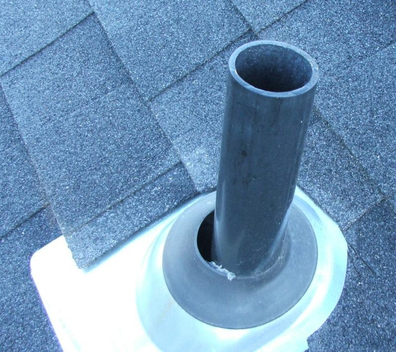 pipe flashing