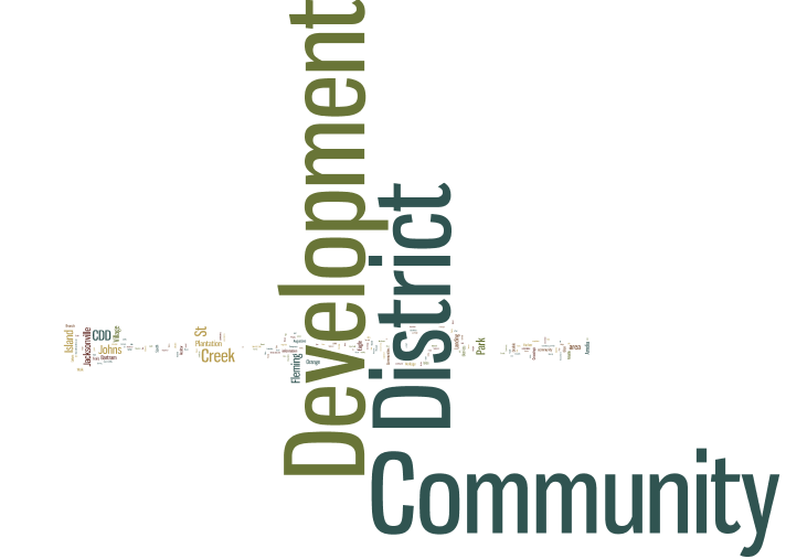 How many Community Development Districts are there in Jacksonville FL?