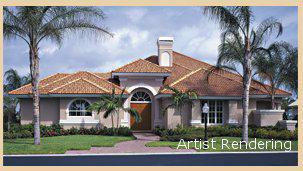 Artist Rendering of home design