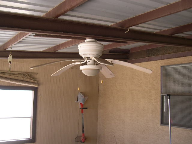 Exterior Ceiling fans. Are they approved? Inspections in Carlsbad N.M.