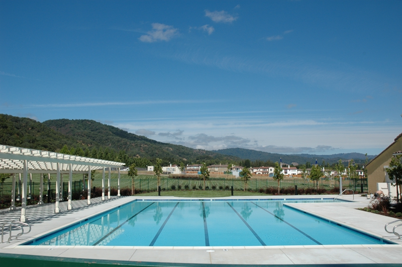 Community Park And Pool At Eagle Ridge In Gilroy