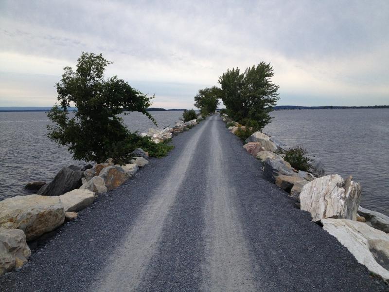 Colchester Causeway Bike Path Enjoy Lake Champlain Waterfront