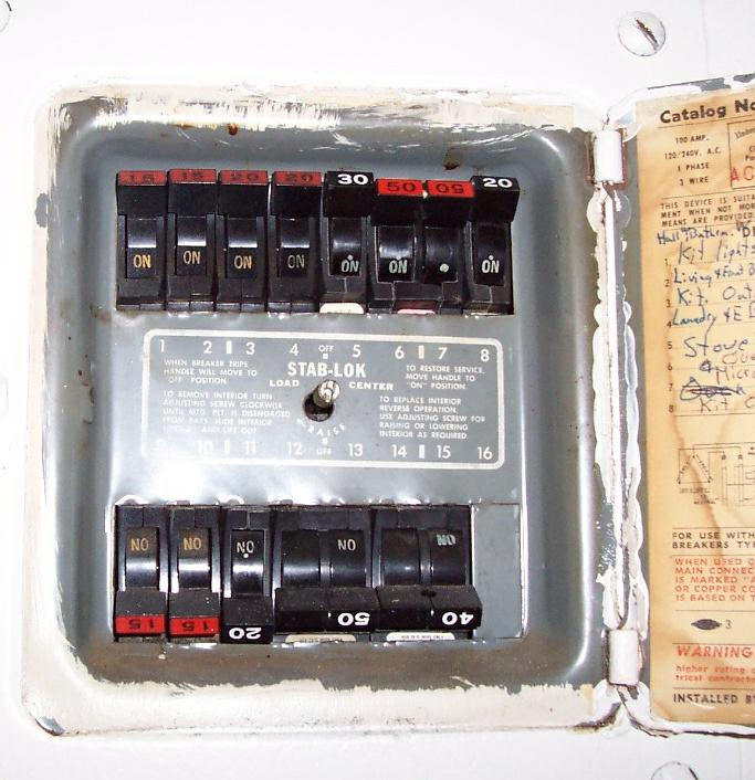 replace federal pacific and zinsco electric service panels