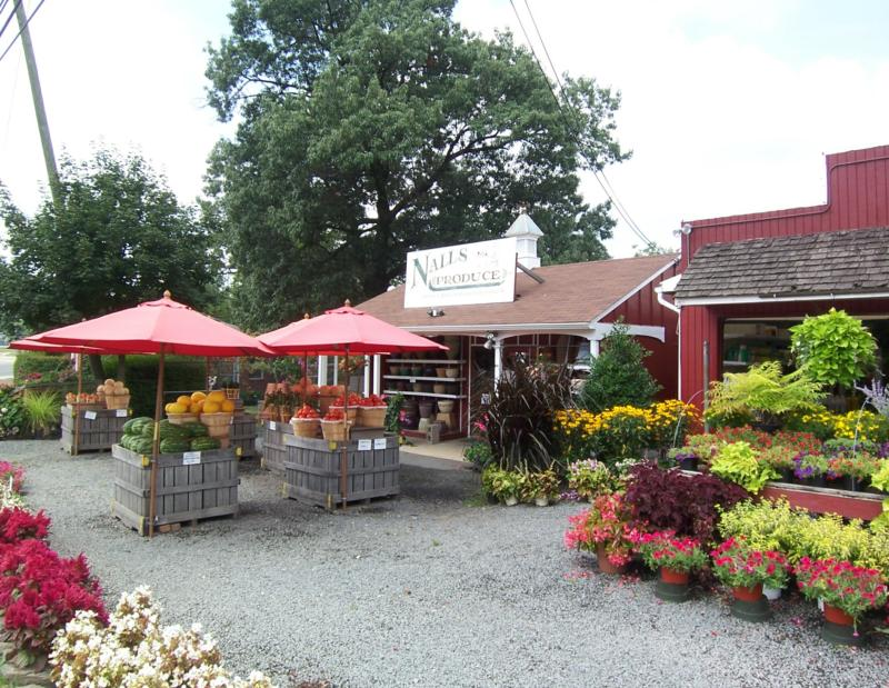 Nalls Produce on Beluah Street in Alexandria VA