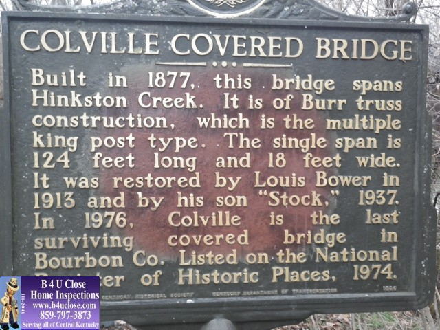 List Of Covered Bridges In Kentucky