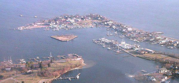 View of Solomons Island