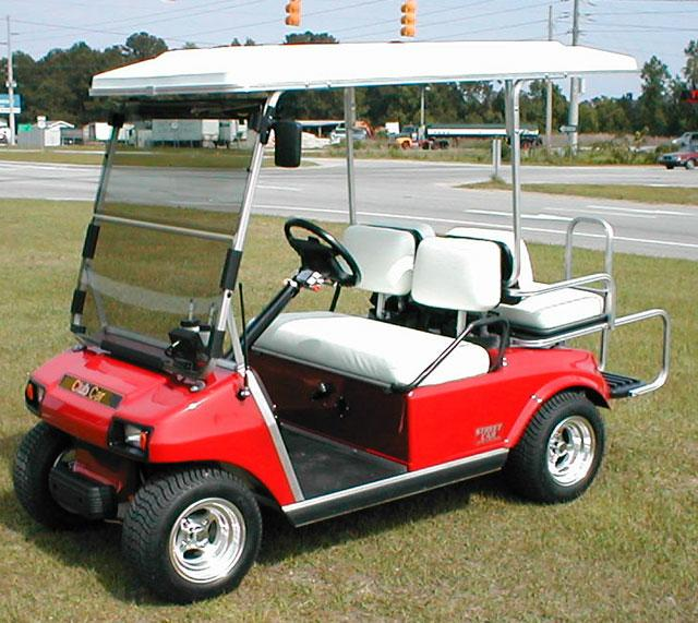 Can you drive a golf cart on the streets of Mount Pleasant?