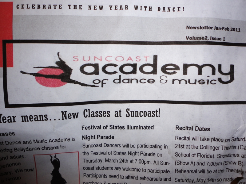 Suncoast Academy of Dance and Music in St. Petersburg