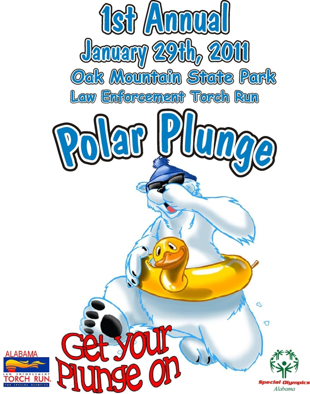 Alabama Torch Run Polar Plunge