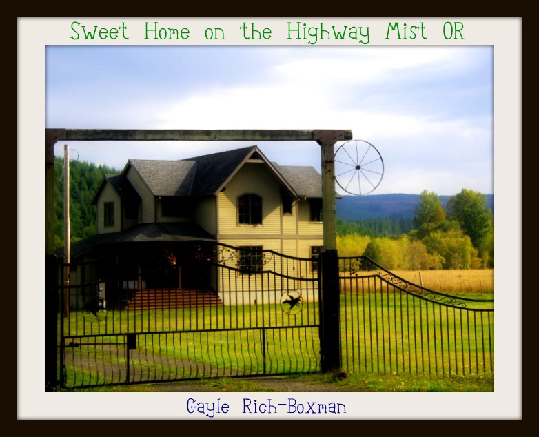 Sweet Home on Hwy 202 Mist Oregon