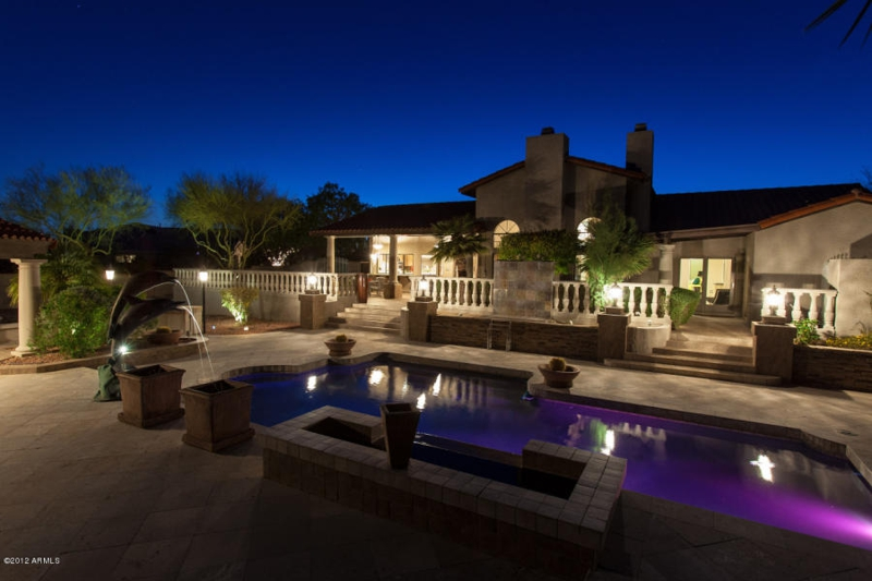 Scottsdale Custom Home For Sale - Home For Sale in Scottdale AZ