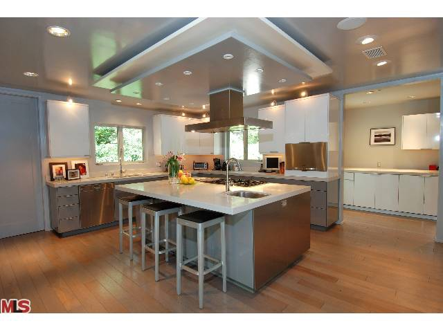 modern Los Feliz kitchen