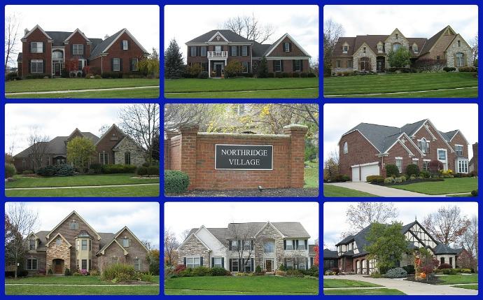Northridge community of Mason Ohio 45040