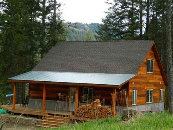 sold log home
