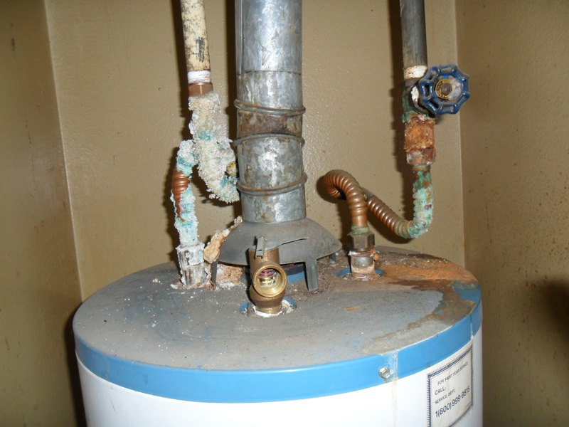 Galvanic corrosion in long beach older homes plumbing systems