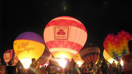 balloon glimmer, fest-a-ville