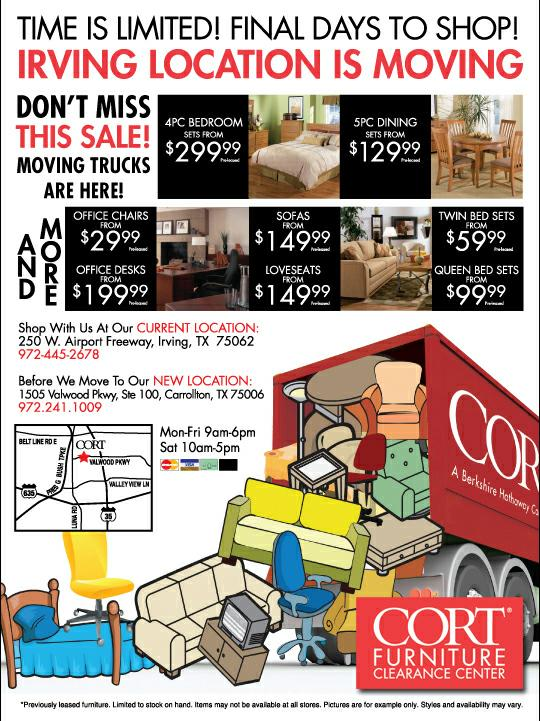Cort Rental Furniture In Southern California By Ping