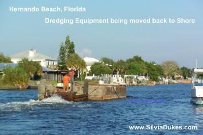 Hernando Beach Florida Residents Celebrate Channel Dredge