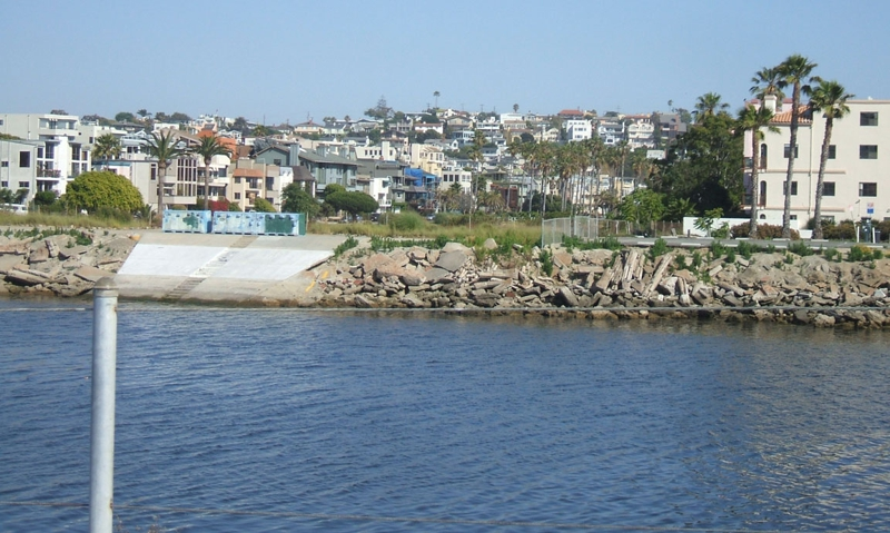 View of Playa Del Rey from Bellona Creek