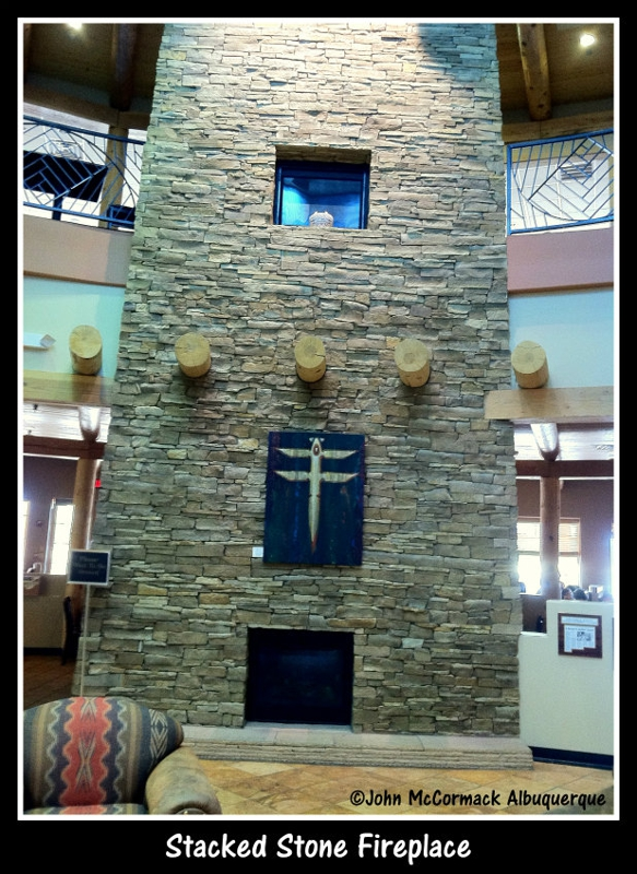 Stacked Stone ,Fireplace ,Indian Harvest Cafe,Bakery, Albuquerque, John McCormack, McCormick, Albuquerque Homes Realty