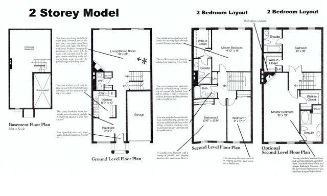 The luxury condominium complex of 39 stornwood estate for Two story condo floor plans