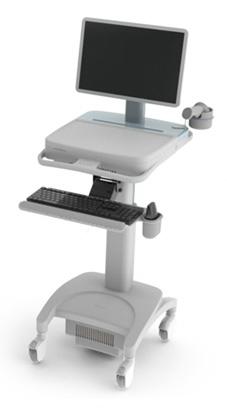 Infologix Mobile Medical Work Station for Clinics and Hospitals