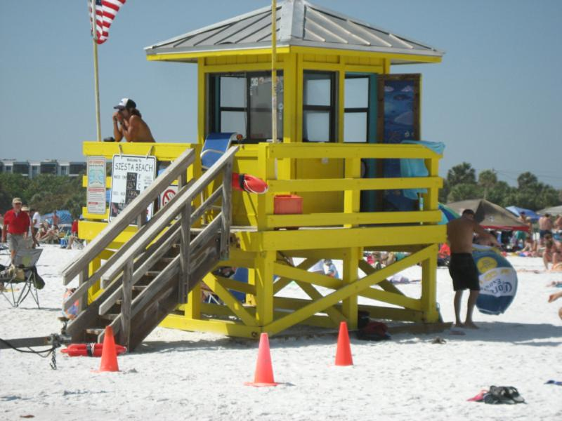 Siesta Key Lifeguard Station