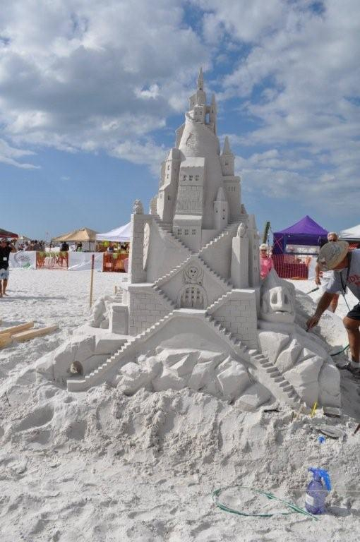 Siesta Key Sand Castle