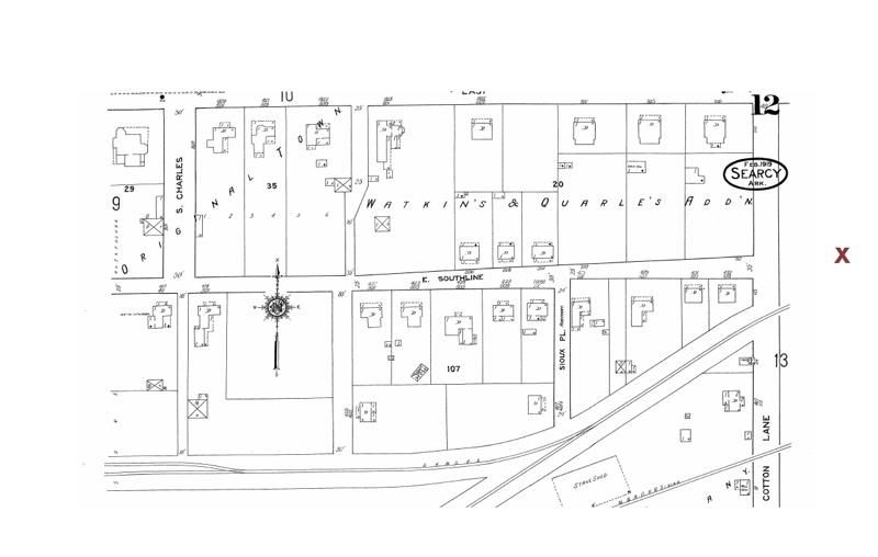 Searcy Map Section 1919