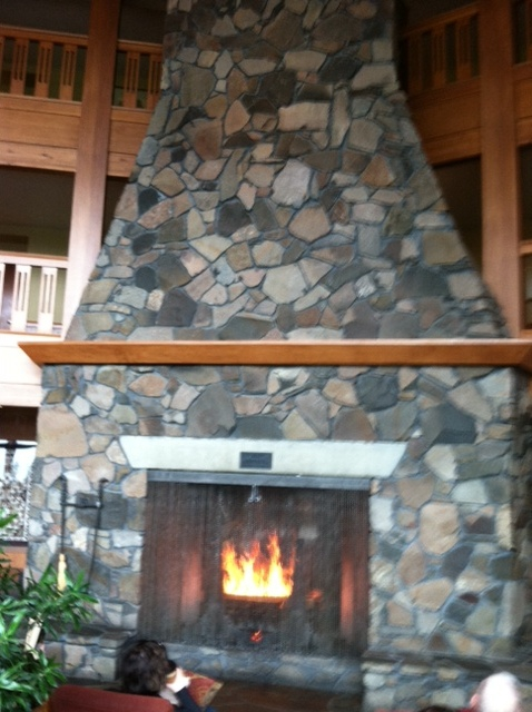 3 three story fireplace