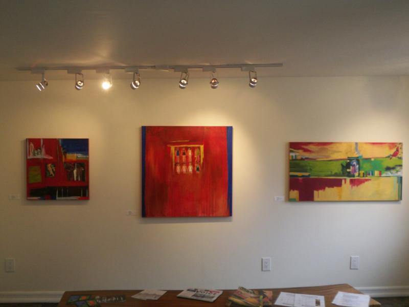 New works by Susan Snyder at The Andrews Gallery in Leucadia, California - Jeff Dowler