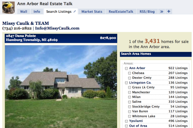 Ann Arbor Real Estate Talk on Facebook