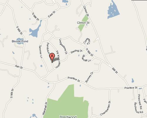 Ravenwood Map - Hopkinton MA