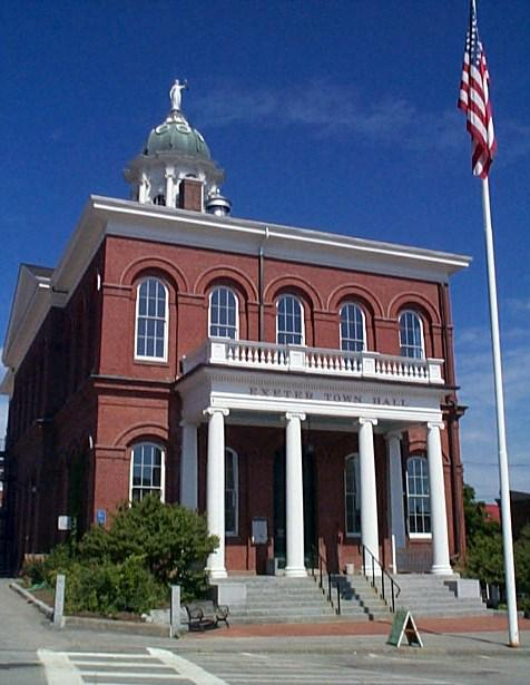 Exeter New Hampshire - Town Hall Building - Ann Cummings 2007