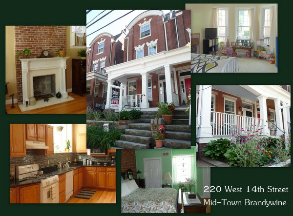 collage of 220 w. 14th