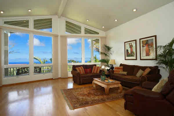ocean view from maliu ridge home for sale