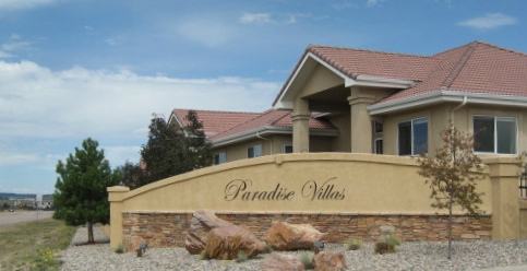 Paradise Villas grove Entrance