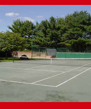 TENNIS COURTS AT REGENTS PARK IN WESTPORT CT