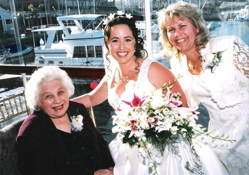 Grandma in Newport Beach