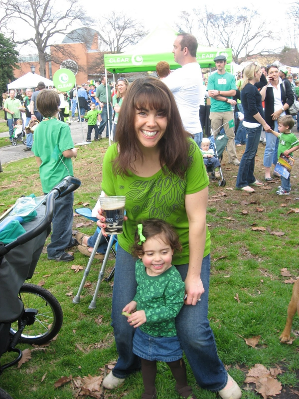 St. Patrick's Day Parade in Raleigh