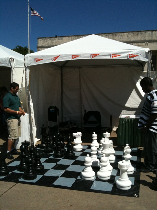 Chess At Earth Day 2012