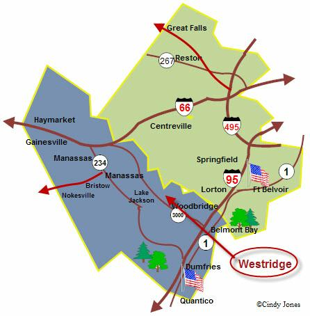 Westridge in PW County Map-Cindy Jones