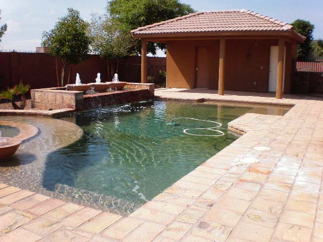 Should you have a backyard pool mesa az homes with pools for Garden pool in arizona