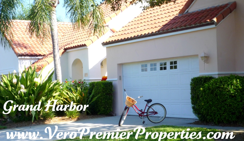 victoria island of grand harbor, vero beach florida, golf community