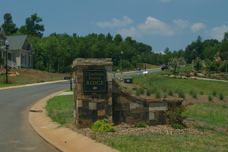 Chatham Forest Ridge - Chatham County NC Available Land and Lots - Raleigh Real Estate Land